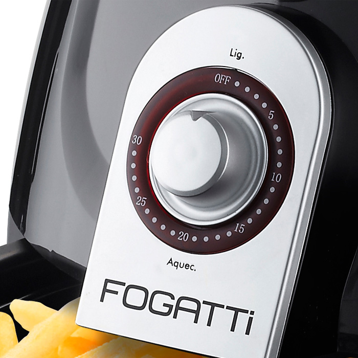 Best Fryer Fogatti Black